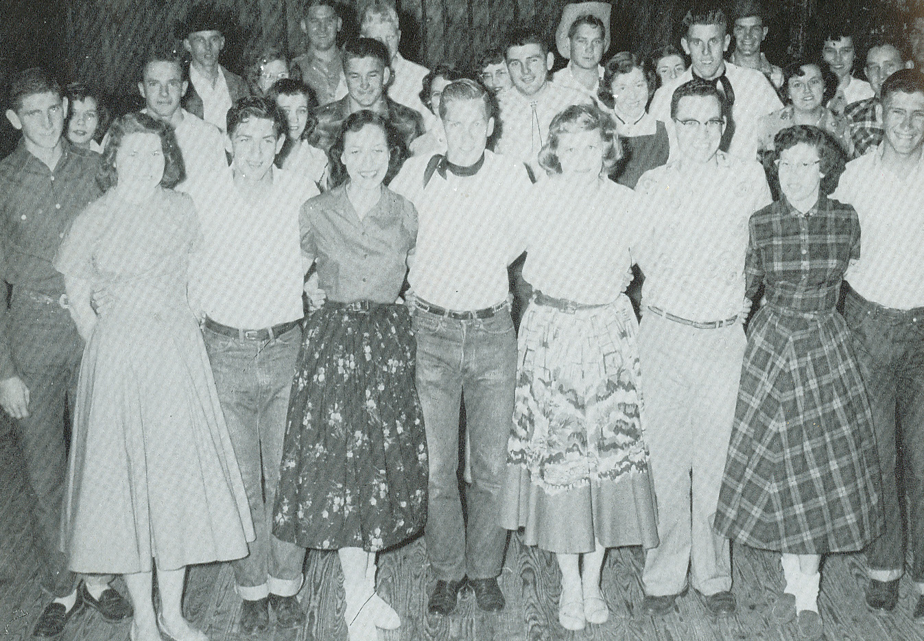 Square Dance Club 1957