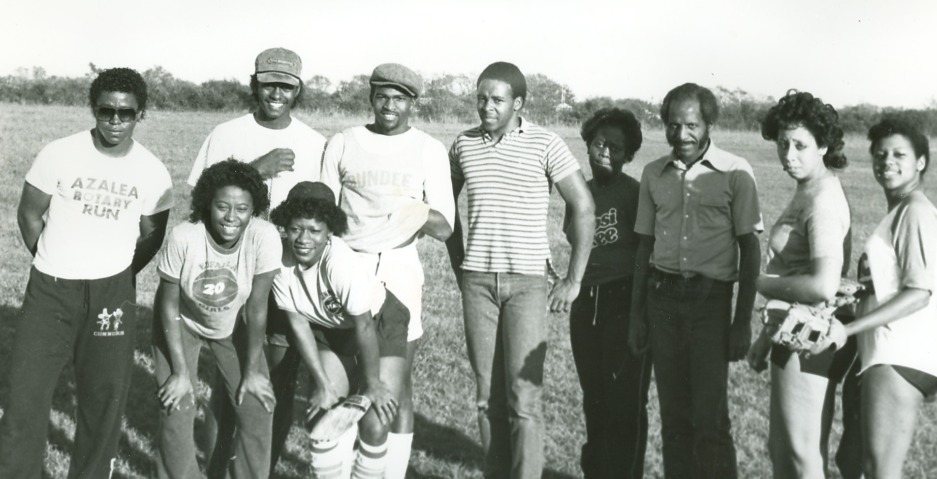 Black Student Society officers 1983