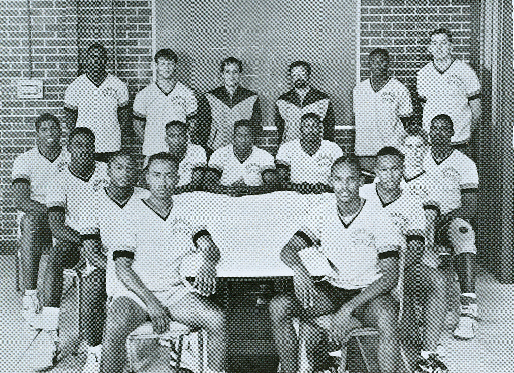 Mens basketball team 1989-1990
