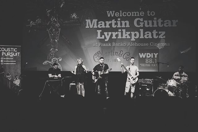 #throwback to our very first time performing at @musikfest 2019! We still reminisce about this 🤓 . . . . . #musikfest #musicians #original #band #festival #musicfestival #performance #liveshow #throwbackthursday #tbt #tbthursday #ap #acousticpursuit #martin #martinguitar