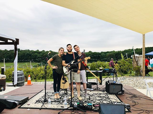 3 performances in a row this past weekend! 🤪 We are so thankful to all of you and your support. With out you our music would go nowhere! So, thank you. Because with out you we cannot now grow. ❤️ . . . . . #show #alternative #soul #band #performance #acoustic #harmony #original #livemusic #music #songs #love #apshows #bethlehem #PA #Pennsylvania #lehighvalley #lehighvalleymusicians #soulful #support #localmusicians #blueridgewinery #winery #fun #dancing