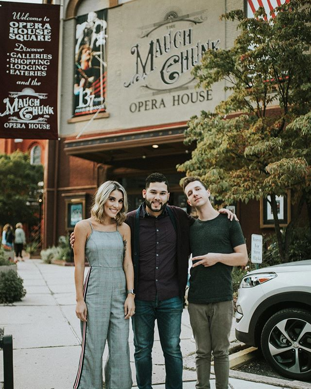 We had such a wonderful time playing at the @mcoperahouse on Saturday! We're so grateful for the opportunity to share the stage with so many wonderful musicians, and can't thank @nykevanwyk enough for inviting us to this event! . . . . #show #mauchchunkoperahouse #operahouse #music #live #thedevinevocals #jimthorpe #musicians #threeamigos #opener #liveshow #house