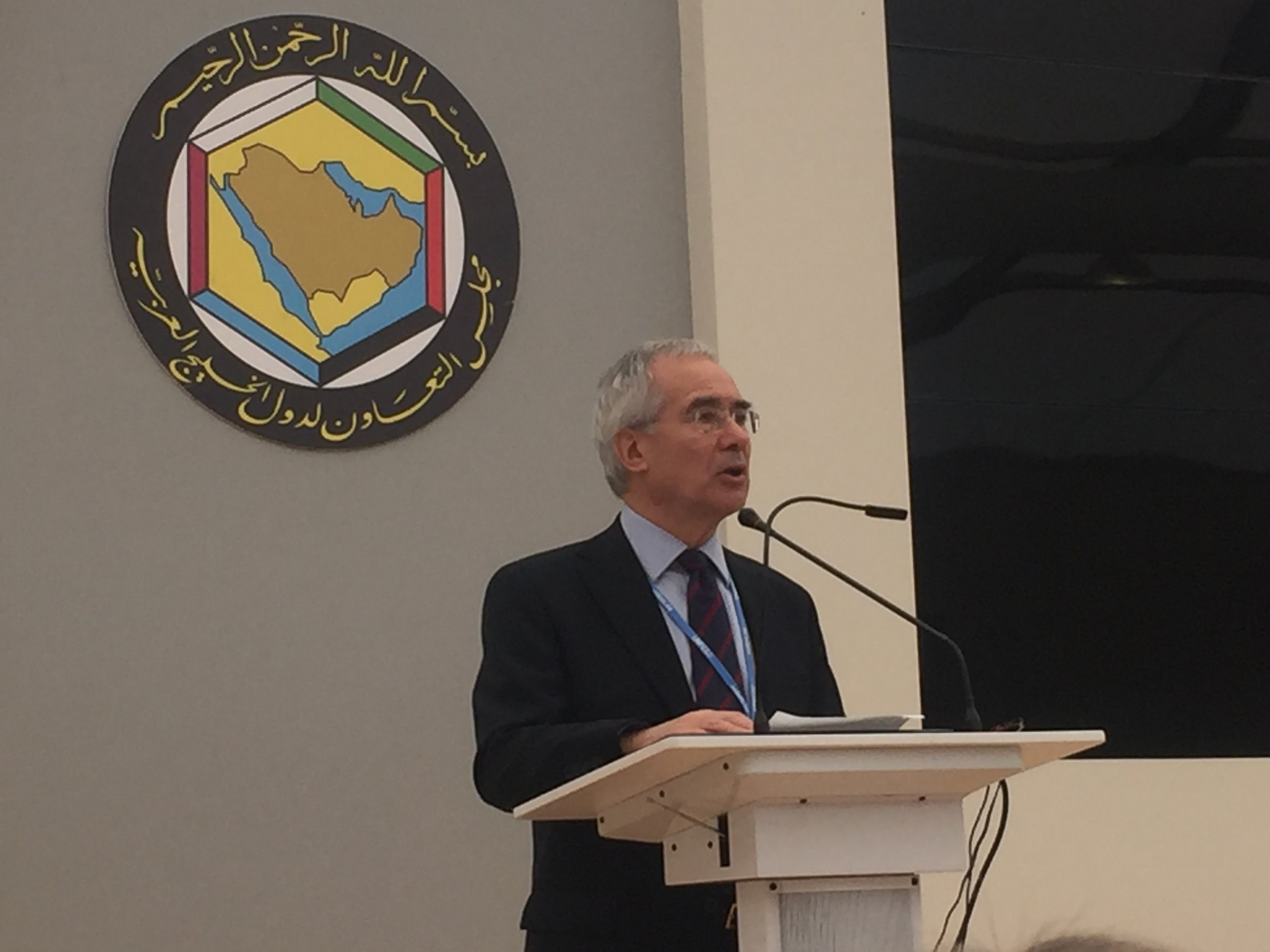 Lord Nicholas Stern provides closing remarks, emphasizing that researchers need to link with policy-makers to interact and learn from each other