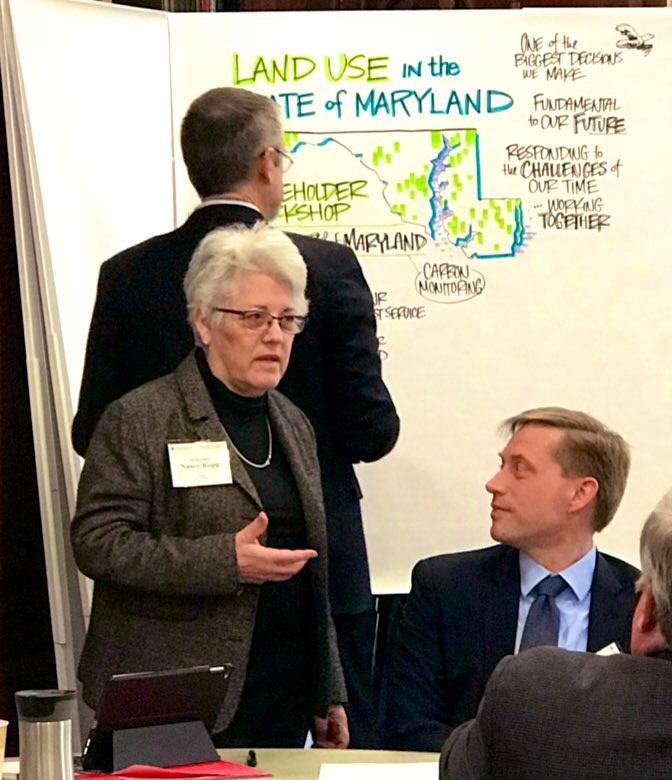 State Treasurer Nancy Kopp.
