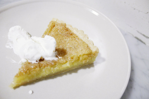 lemon lime chess pie photo by Kana Togashi