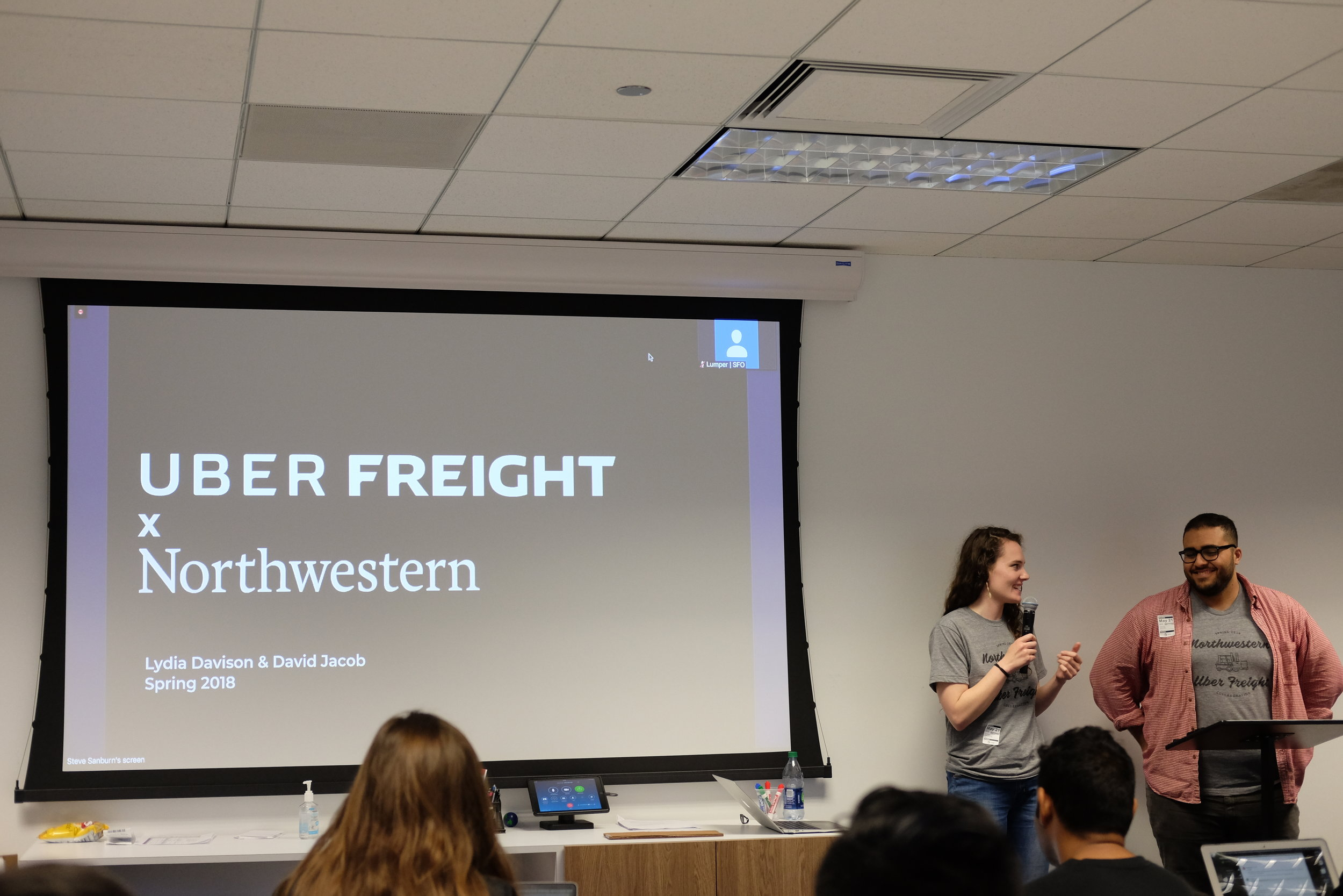 Presenting at Uber Freight
