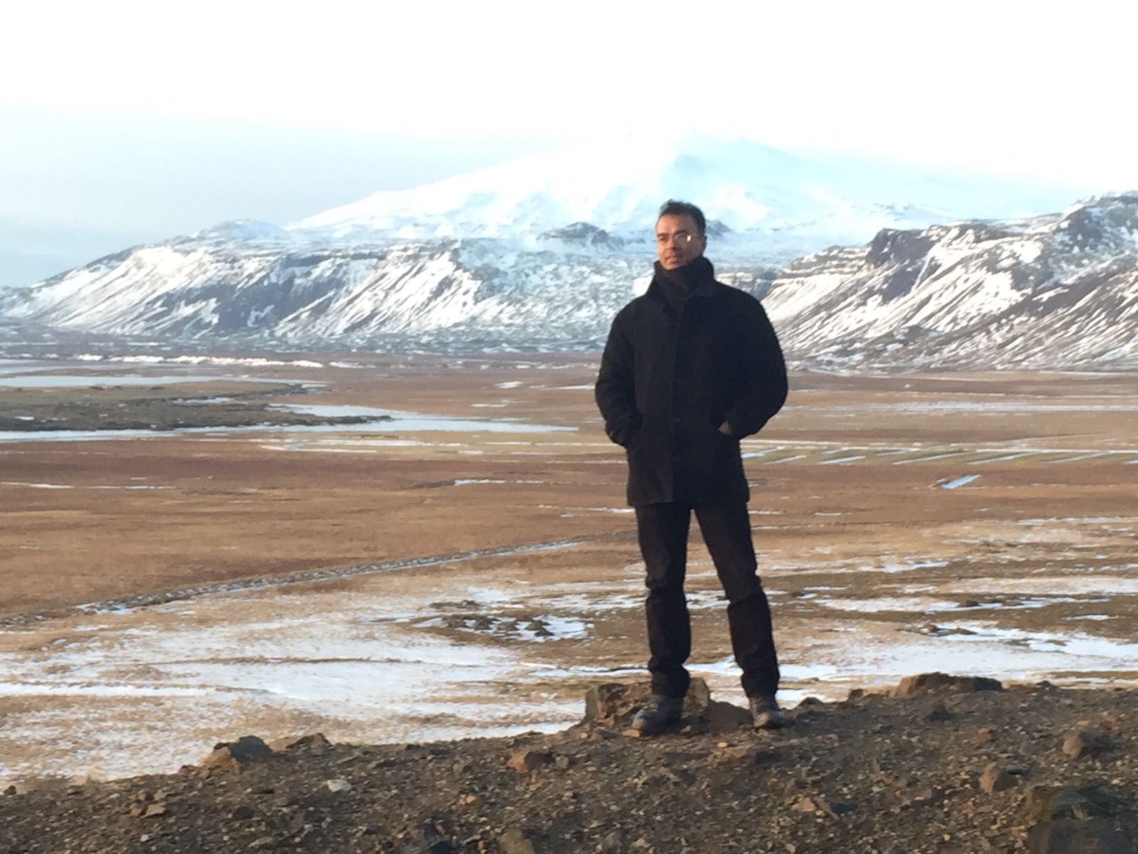 Harminder dhillion, founder of kings speakers, in iceland