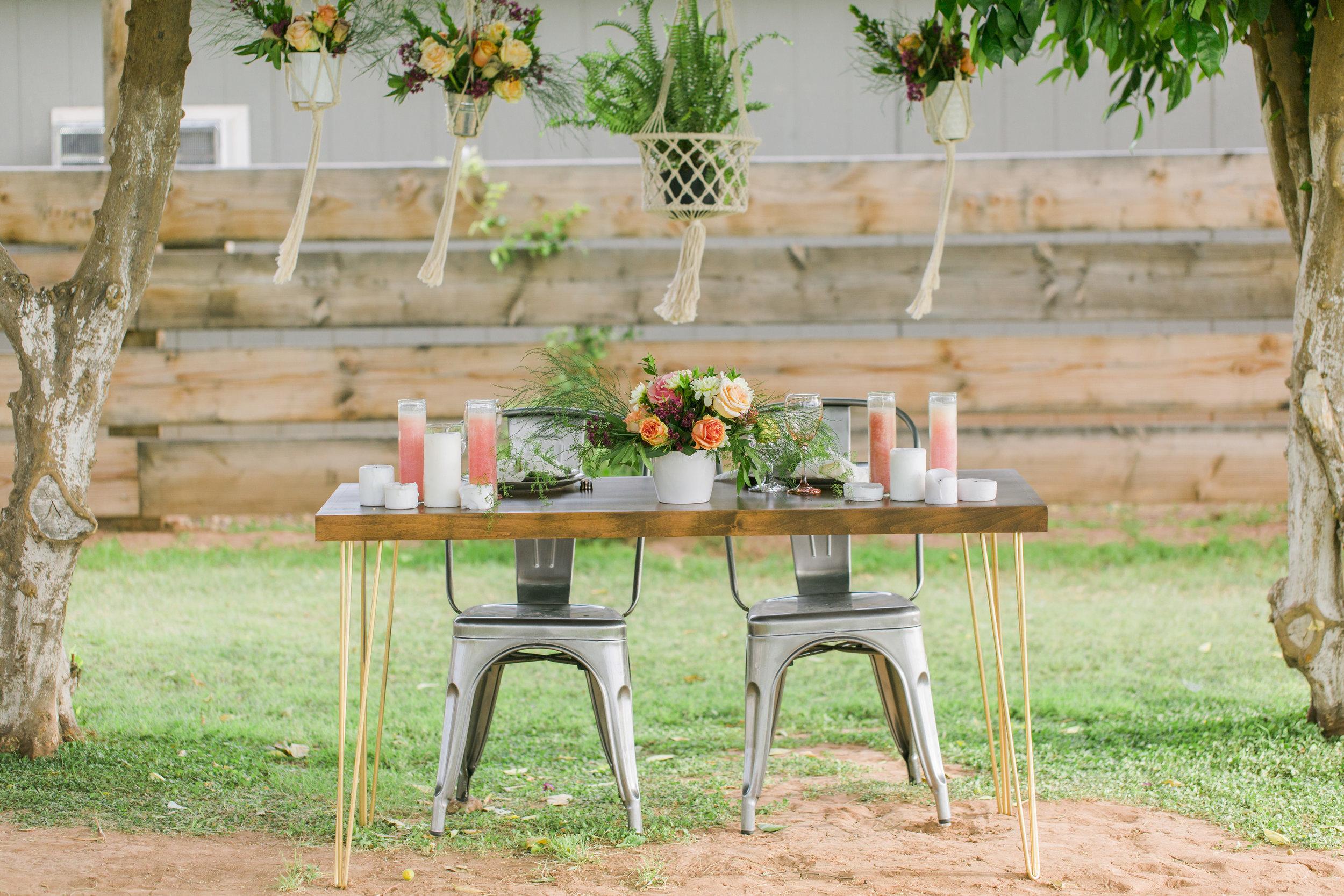 Sweetheart table & metal chairs.jpg