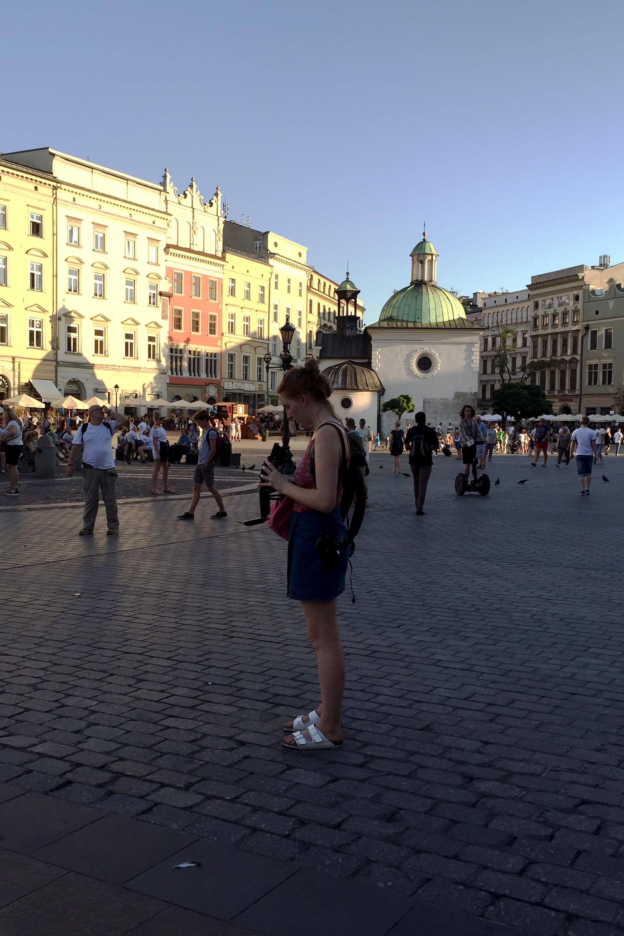 Photographing Kraków, Poland
