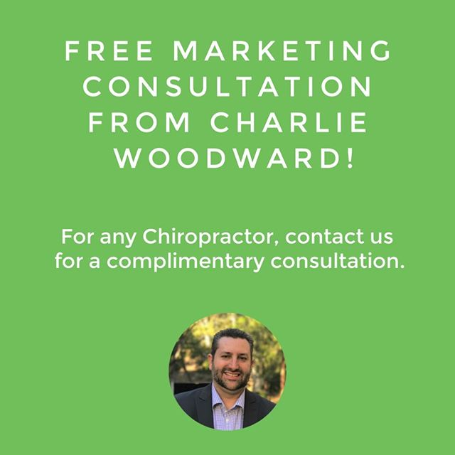 For all Chiropractors - we're offering a free marketing consultation with our owner, Charlie Woodward!⠀ ⠀ Learn how Chiropractors around the United States have used our plans to grow their patients list and their patient visit average.⠀ ⠀ Click the link in our bio to schedule a call with him for whenever works for you.⠀ ⠀ .⠀ .⠀ .⠀ .⠀ .⠀ #chiropractor #chiropractic #wellness #health #chiropracticadjustment #benefits #employees #insurance #backpain #adjustment #chiro #chiropracticworks #chiropracticcare #getadjusted