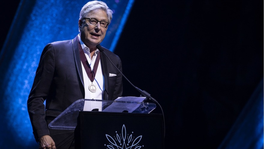 Don Moenat the GMA Honors and Hall of Fame Ceremony in Nashville, Tenn. on May 8, 2019. Photo: Jamie Gilliam