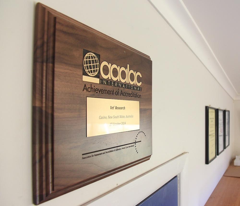 AAALAC accreditation
