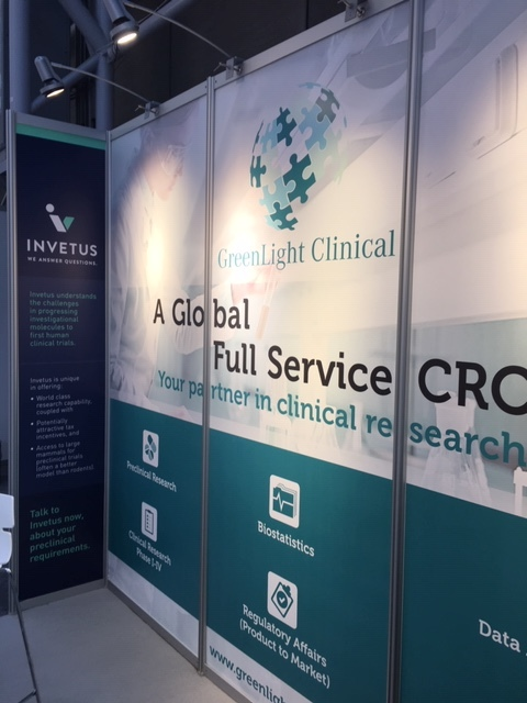 Our joint exhibit stand, BIO-Europe 2018