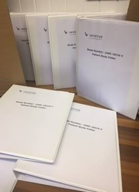 Completed patient folders