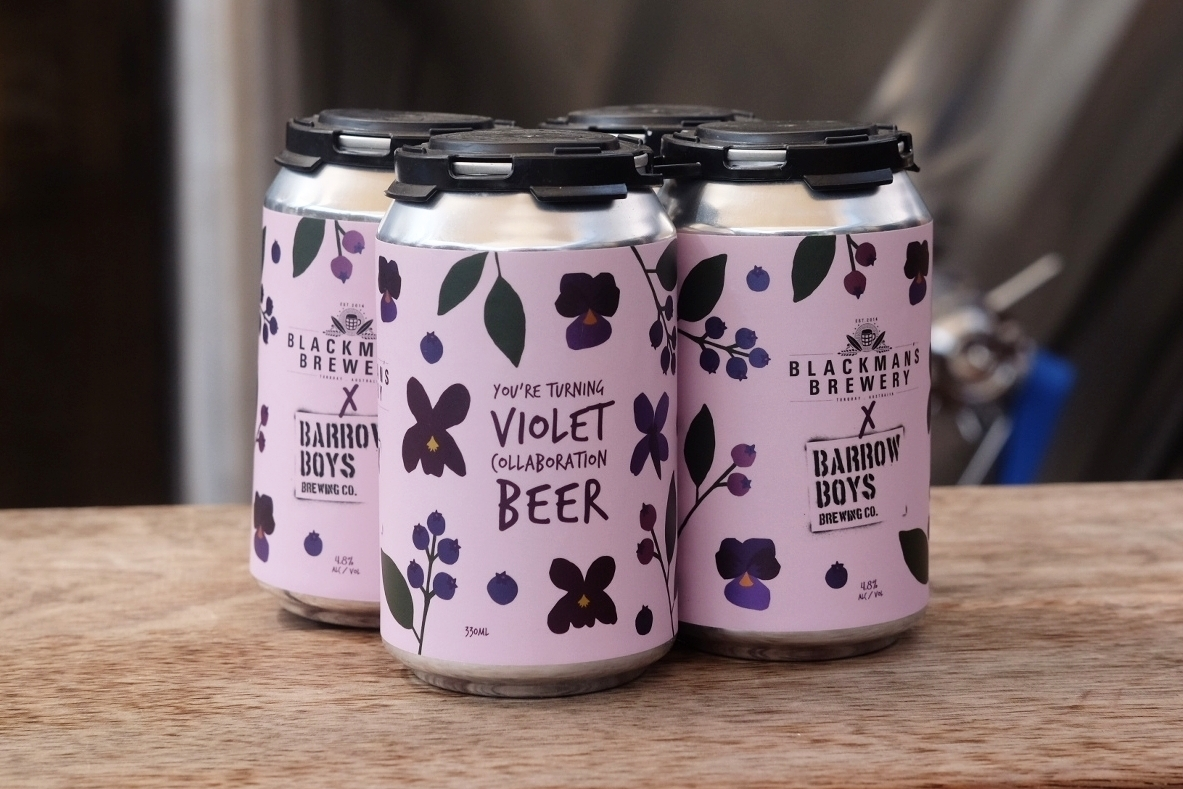 You're Turning Violet | Violet and Blueberry Gose | December 2017