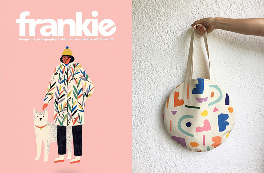 THE ORB BAG - featured in Frankie Magazine issue #83