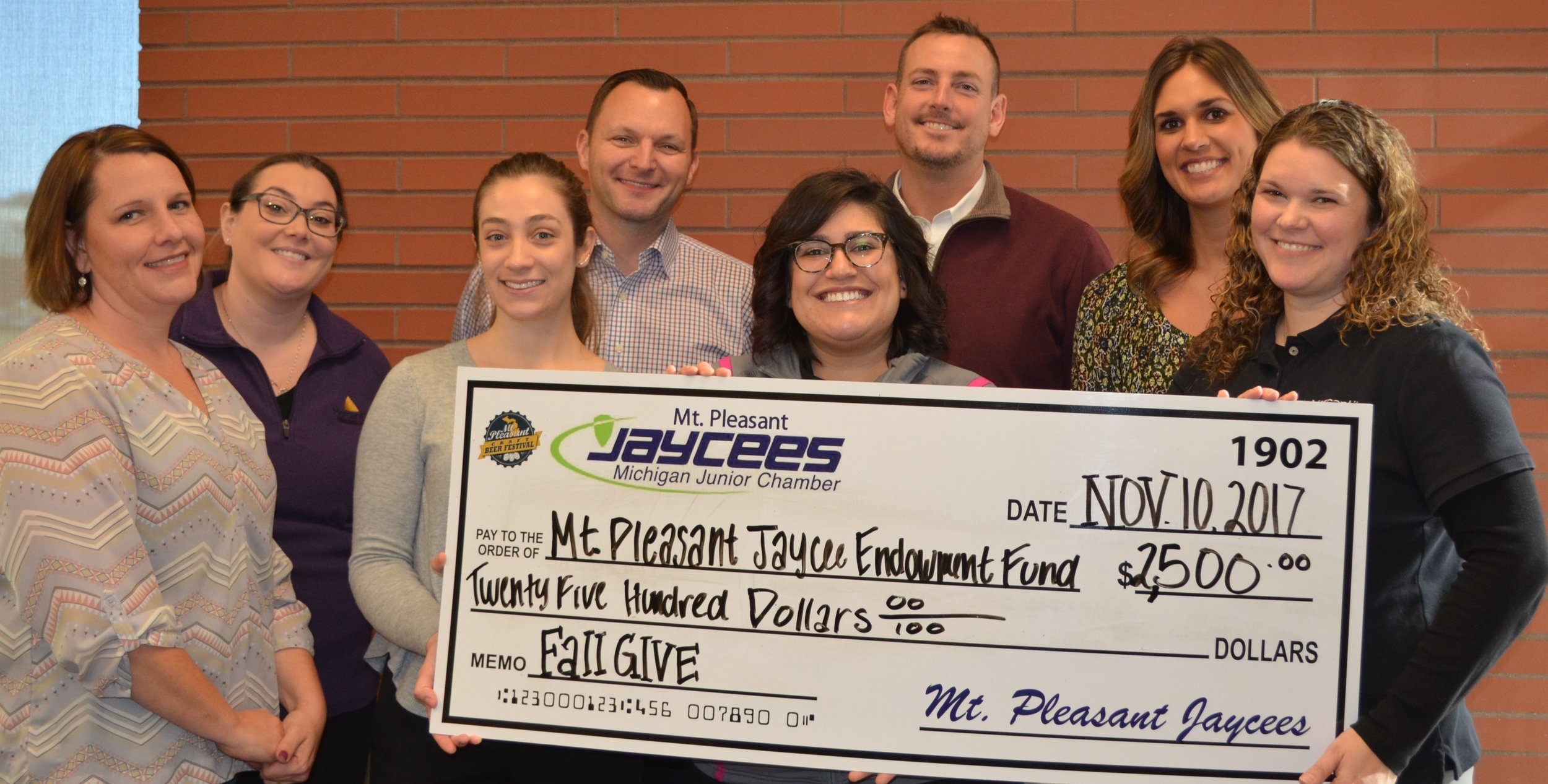 Mt. Pleasant Jaycees Endowment Fund