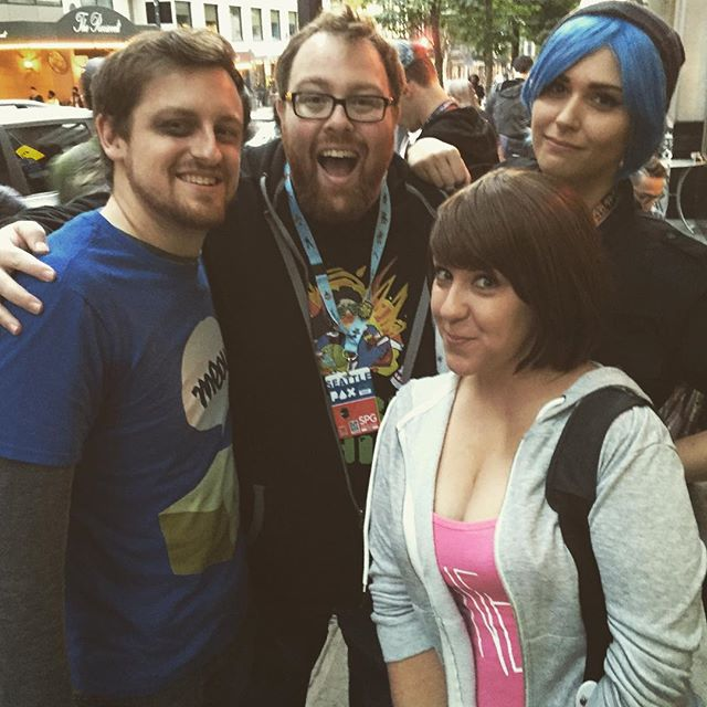 Just hanging out with my fellow Life is Strange teens! - Coxoxo