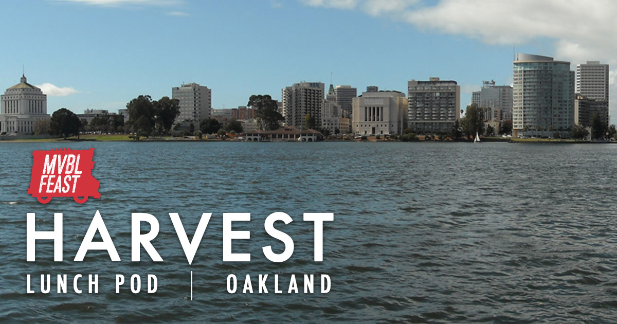 Harvest - Oakland - Days: Tuesdays // Time: 11am - 1:30pmOne Truck Lunch Pod180 Grand Ave. Oakland, CA 94612