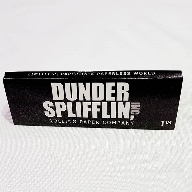 Dunder Splifflin is not like the big box brand rolling paper companies. We thrive on great customer service and great product. #dundersplifflin
