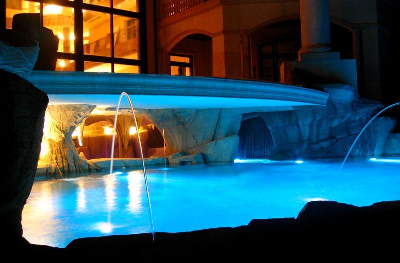 Cayman luxury artificial rock pool