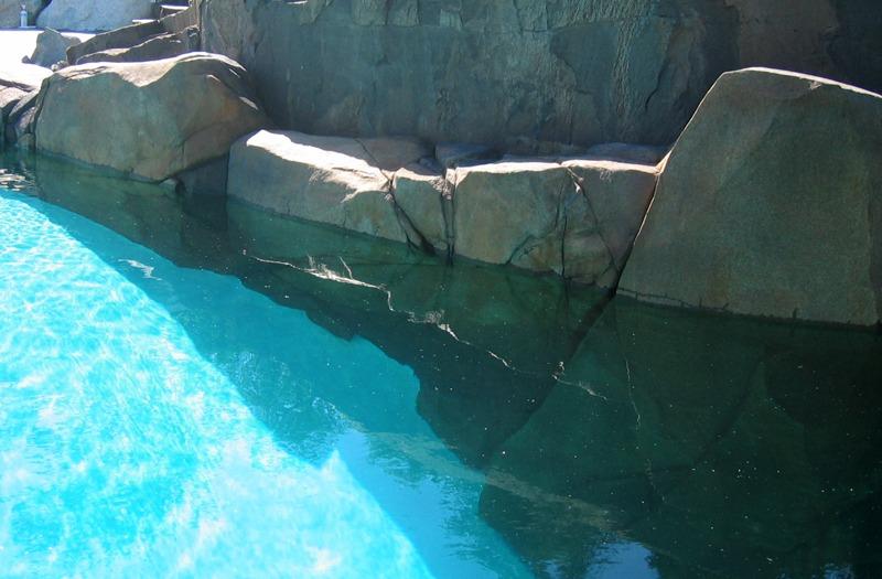 Basalt artificial rock