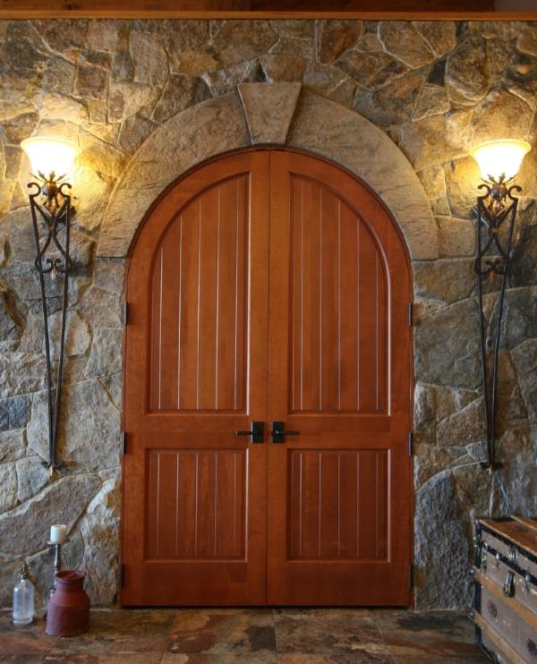 artificial rock door arch
