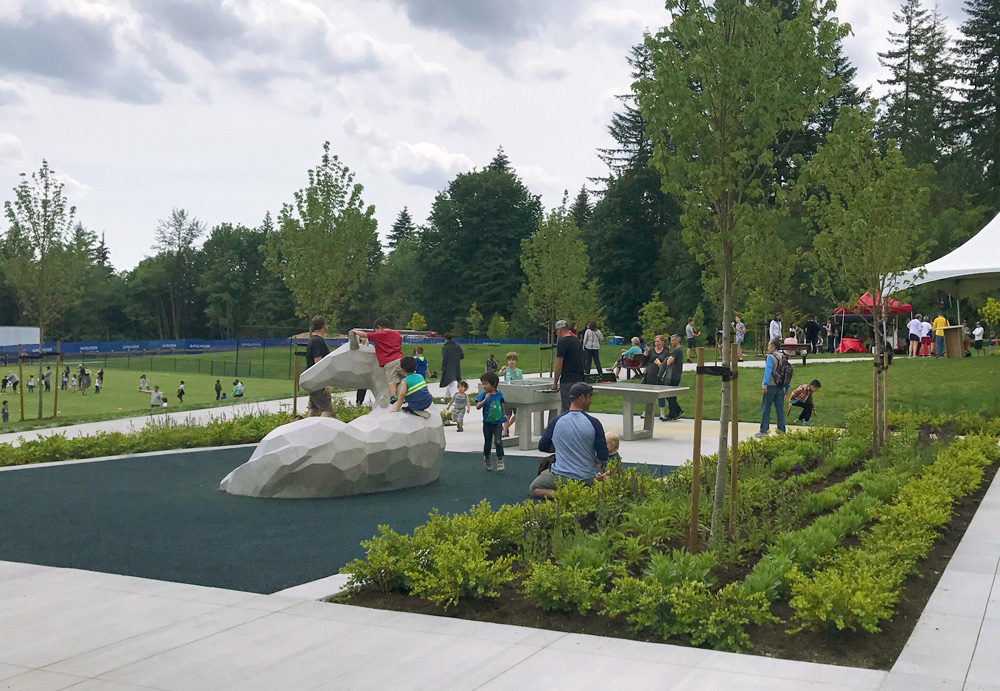Opening Day of Burke Mountain Pioneer Park in Coquitlam BC