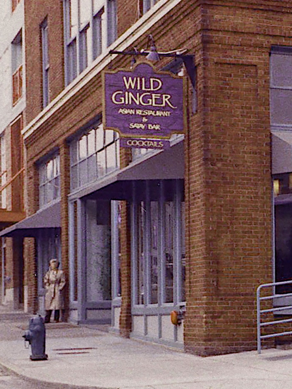 - Five years later, in 1989, they opened the very first Wild Ginger on Western Avenue underneath Pike Place Market in Seattle. The dishes drew inspiration from the Southeast Asian cuisines they fell in love with.