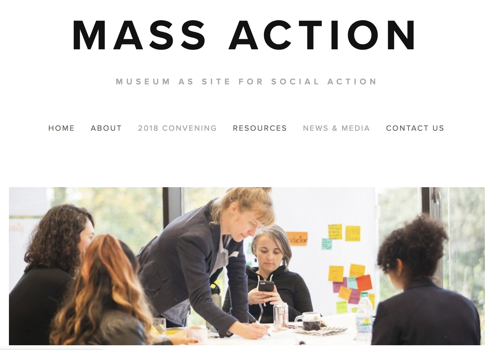 Museum as Site for Social Action Convening, Oct 2018 - This October we attended the MASS Action Convening at the Minneapolis Institute of Art with 60+ museums seeking to align with more equitable and inclusive practices.