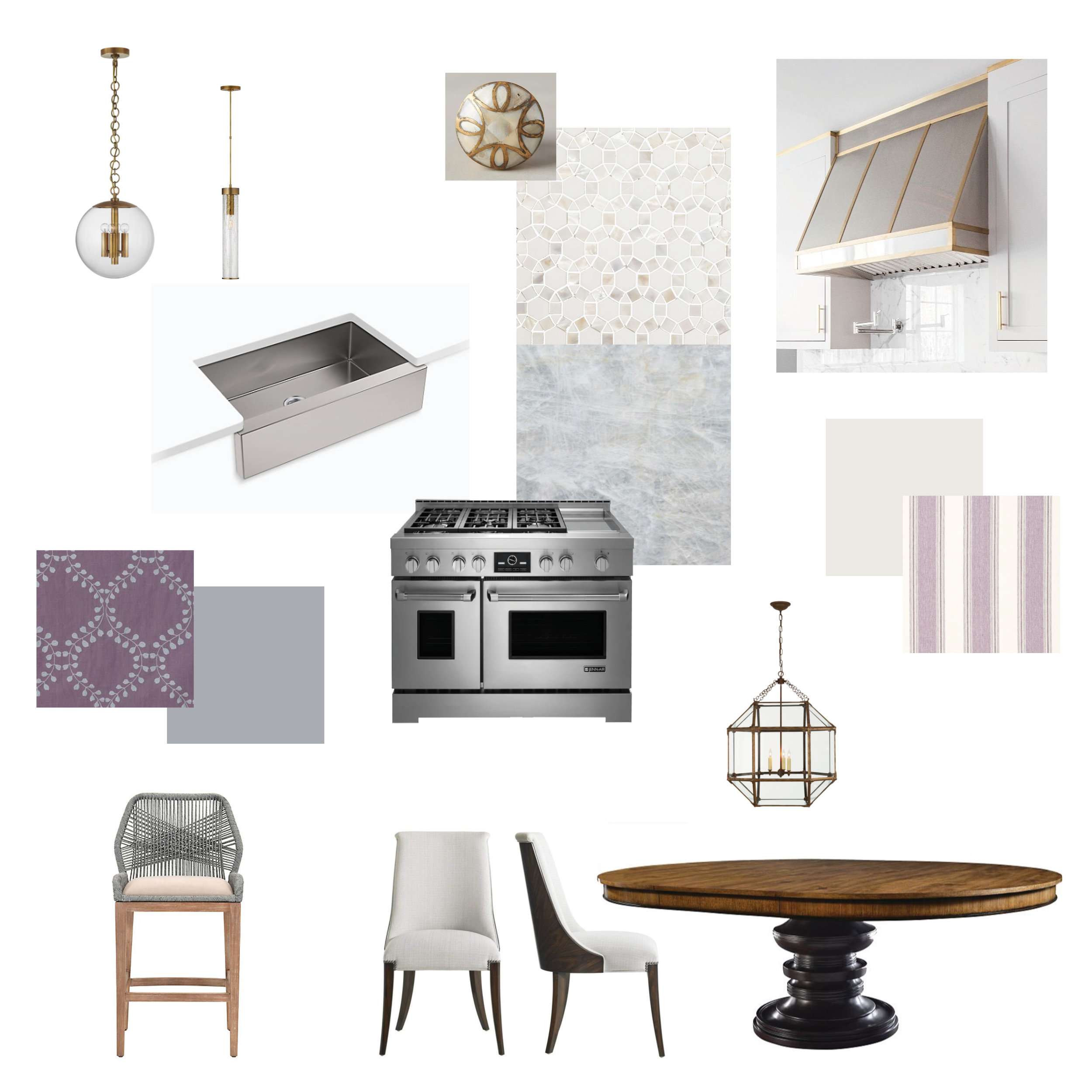 Kitchen Design Mood Board