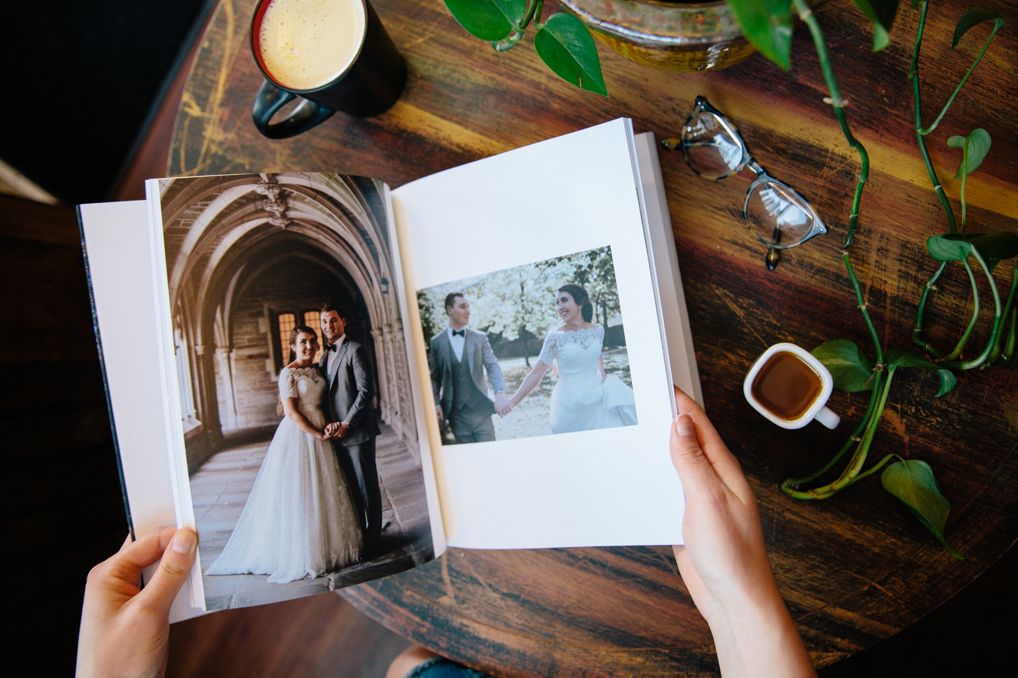 Interested in a beautiful, keepsake wedding album? - Inquire above!