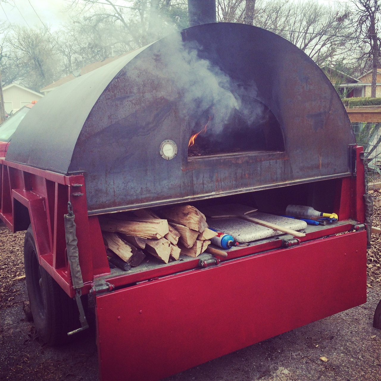 Buy Custom Built Mobile Wood Fired Pizza Trailer Oven Start a Catering Business.JPG