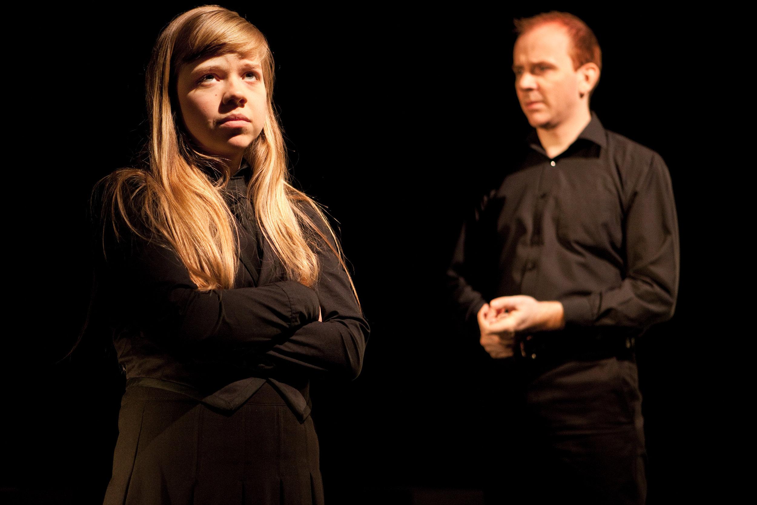 Vivien Endicott-Douglas in Tarragon Theatre's Premiere Production directed by Richard Rose. Photo Credit: Cylla Von Tiedemann