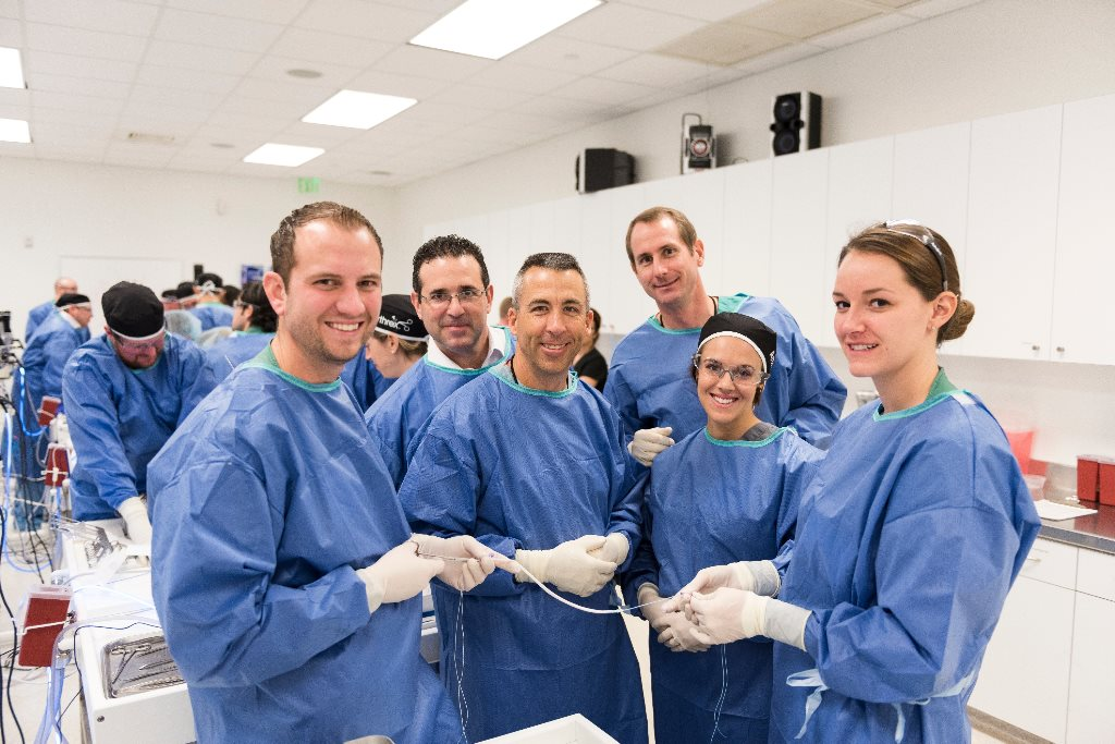 "New consultants training at Arthrex, on their way to ""help surgeons treat their patients better.™ """