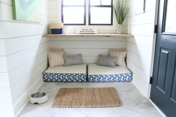 Nook in the Mud Room