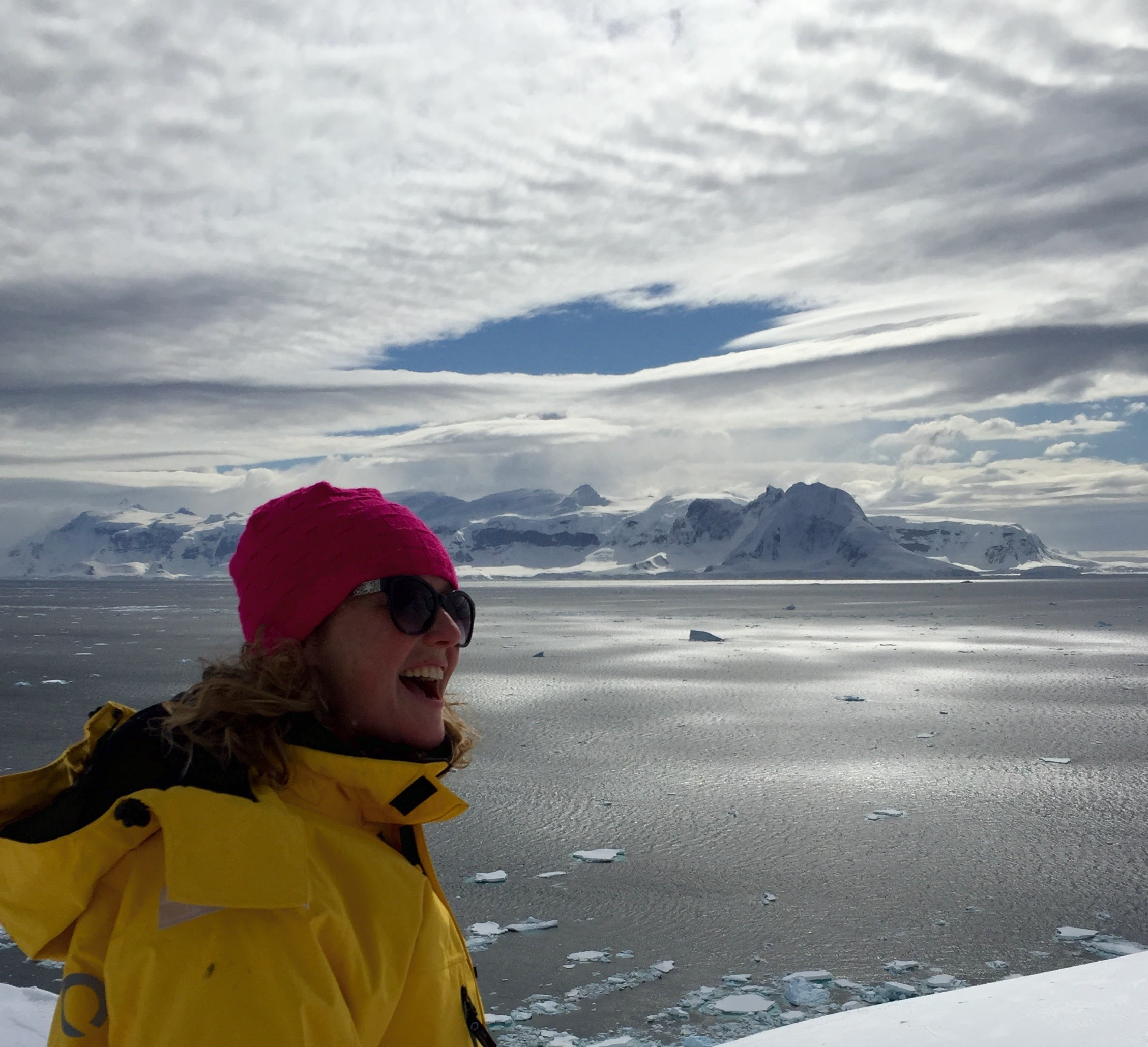 On top...well, on bottom, of the world in Antarctica.