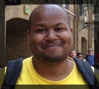 Jamil at the Wizarding World of Harry Potter, Orlando, Florida