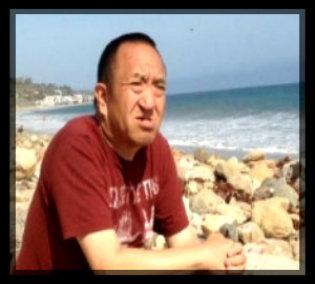 Ricky overlooking the ocean