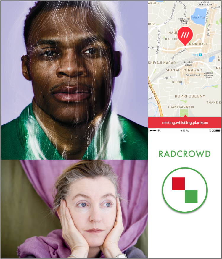 Image credits, clockwise from top left: Solve Sundsbo for the New York Times; screenshot from what3words; Gitanjali Bhattacharjee; Sallie Dean Shatz