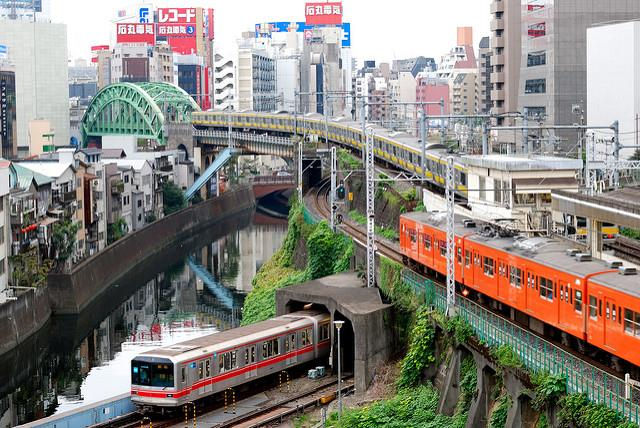 T-17 Days - Tokyo has the world's most extensive urban rail network with 158 lines, 48 operators, 4,714.5 km of track, 2,210 stations, and 40 million people taking the train DAILY!!! Clean, safe, and reasonably user-friendly, cracking its code is half the fun!You can easily navigate the system via google maps. But for more fun, check this out.http://bit.ly/tokyotrainmap