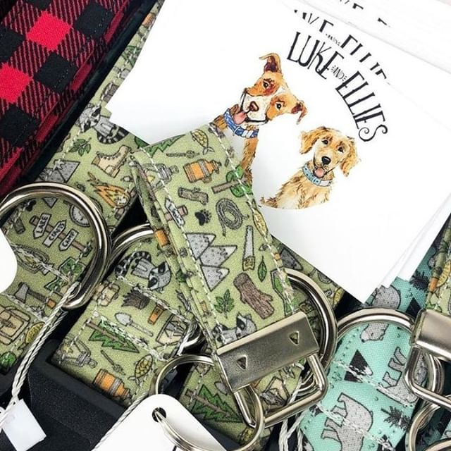@lukeandellies made some fun accessories for all the ADK pups and you have to check them out 🌲
