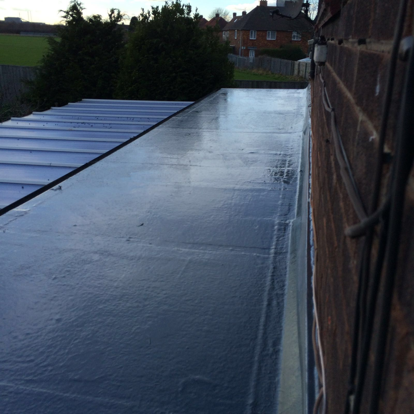 Finished GRP Roof
