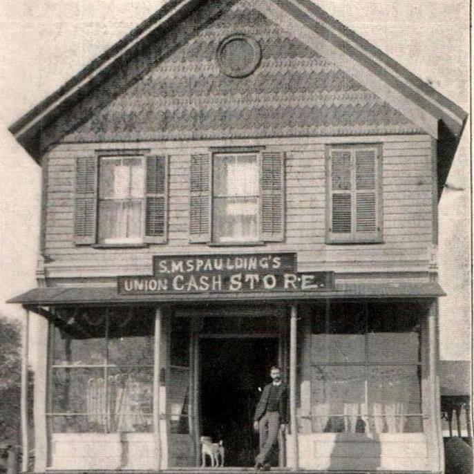 The Random Harvest building back in the 1800's