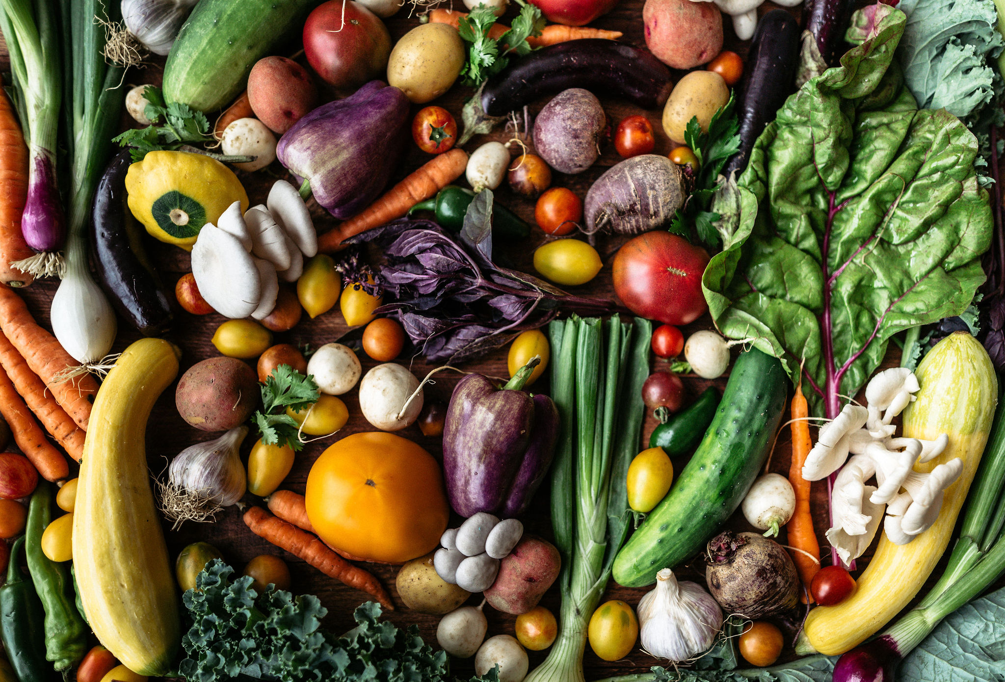 locally sourced seasonal produce
