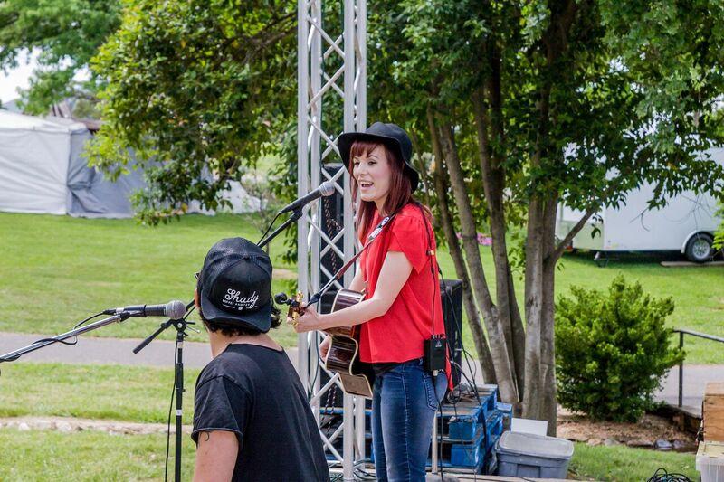 Playing at the Calaveras County Fair!