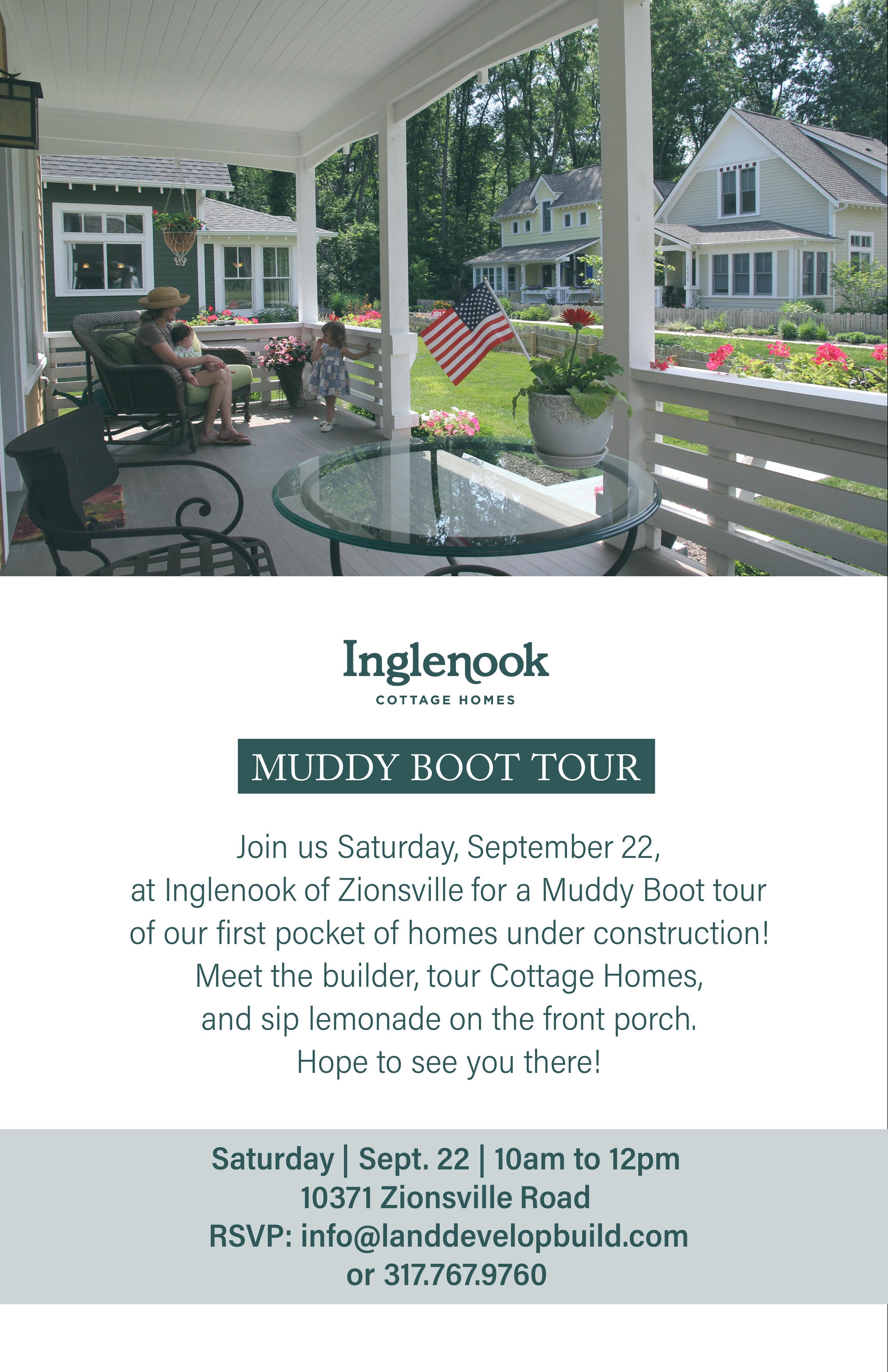 Inglenook of Zionsville Muddy Boot Tour