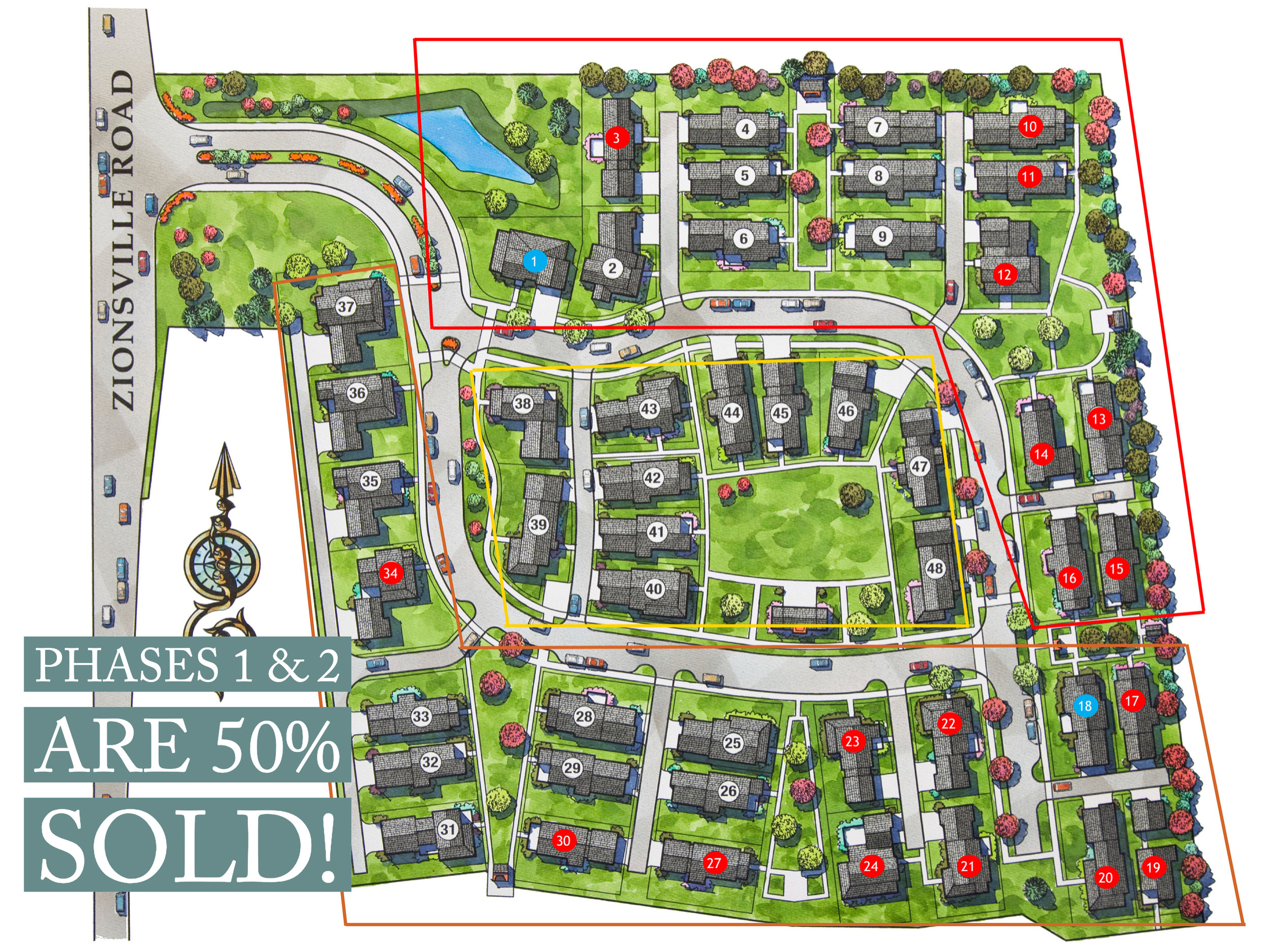 Inglenook of Zionsville Pocket Neighborhood Plan