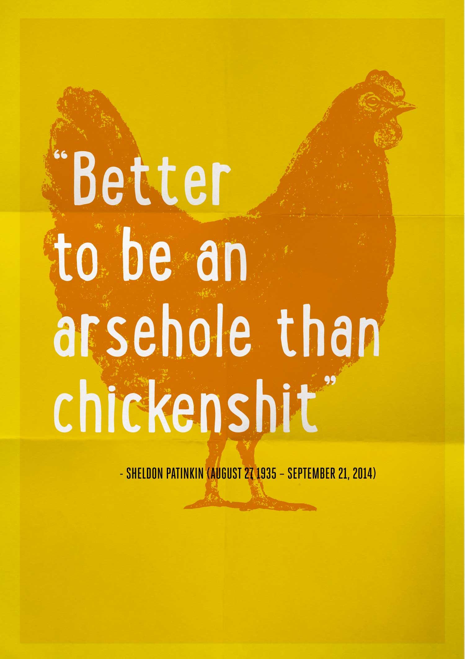 chickenshit