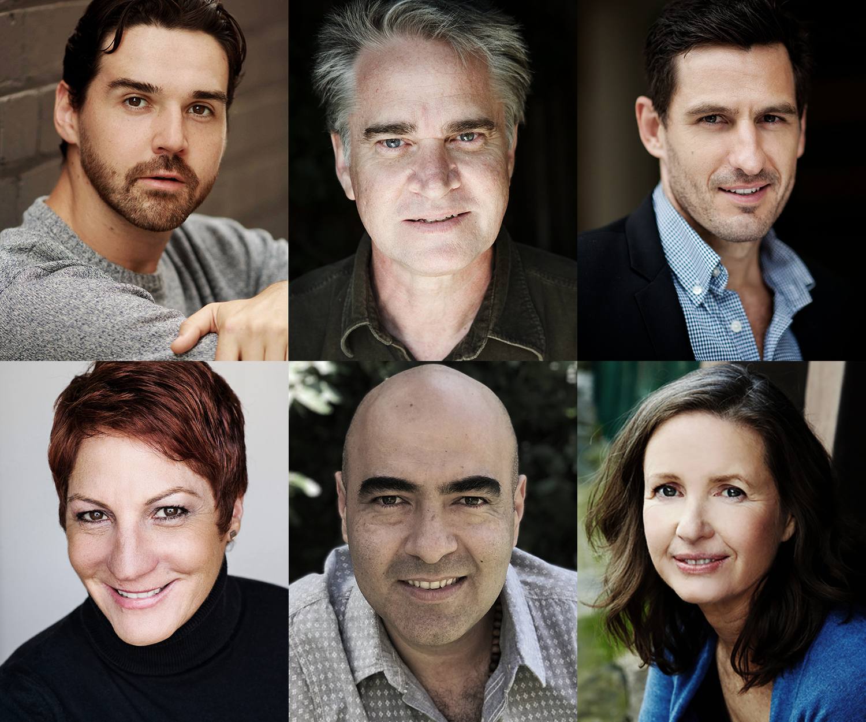 Stalking The Bogeyman cast:Graeme McRae, Noel Hodda,Radek Jonak,Deborah Jones,Alexander Palacio &Anne Tenney